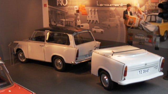 east s trabant people s car a reprieve trabant trailer