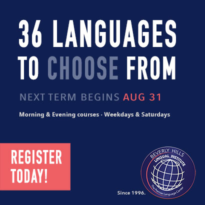 Beverly Hills Lingual Institute | The Premier Language Center | 36 Languages