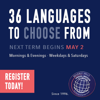 Beverly Hills Lingual Institute | The Premier Language Center | 36 Languages
