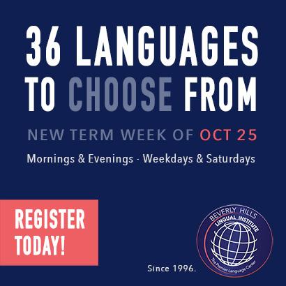 Beverly Hills Lingual Institute   The Premier Language Center   36 Languages